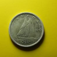 Canada 10 Cents 1943 Silver - Canada