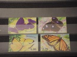 TONGA/NIUAFO'OU - 2000 FARFALLE 4 VALORI - NUOVI(++) - Tonga (1970-...)