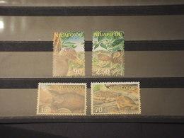 TONGA/NIUAFO'OU - 2002 UCCELLI 4 VALORI - NUOVI(++) - Tonga (1970-...)