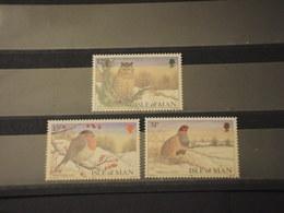 MAN - 1988  UCCELLI 3 VALORI - NUOVI(++) - Isola Di Man