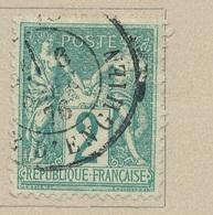 N°74 NUANCE ET OBLITERATION. - 1876-1898 Sage (Type II)