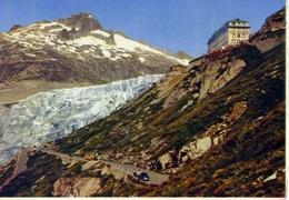 Furkastrasse - Rhonegletscher - Hotel Belvedere - Formato Grande Non Viaggiata – E 14 - Sin Clasificación
