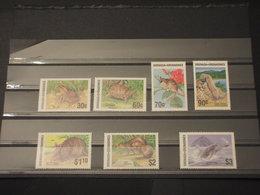 GRENADA/GRENADINES - 1986 FAUNA 3 + 4 VALORI - NUOVI(++) - Grenada (1974-...)