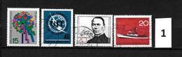 LOTE 1948  ////  ALEMANIA FEDERAL 1965  YVERT Nº: 336/339    CATALOG.2004/COTE: 1,45€ - [7] República Federal