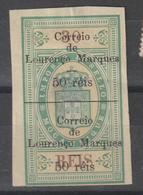 LOURENÇO MARQUES CE AFINSA 49 - NOVO (PAPEL ADELGAÇADO) - Lourenco Marques