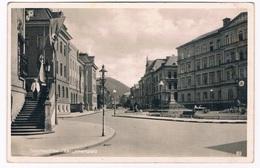 D-10152   TETSCHEN : Langemarkplatz ( Swastika-Fahne) - Sudeten
