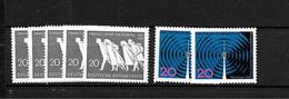 LOTE 1948  ////  ALEMANIA FEDERAL 1965  YVERT Nº: 346 + 348 **MNH    CATALOG.2014/COTE: 2,45€ - Nuevos