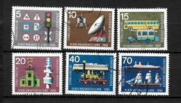 LOTE 1948  ////  ALEMANIA FEDERAL 1965  YVERT Nº: 340/345   CATALOG.2014/COTE: 2€ - [7] República Federal