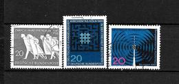 LOTE 1948  ////  ALEMANIA FEDERAL 1965  YVERT Nº: 346/348   CATALOG.2014/COTE: 0.95€ - [7] República Federal
