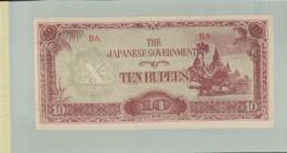 Billet De Banque The Japanese Government 10 Dollars TB  1942-1945 DESC 2019 Gerar - Japon
