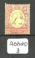 AOB Et O YT 131 En Obl - Protectorados De África Oriental Y Uganda