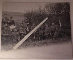1914 Chasseurs à Pieds Fanion 25 Eme Bataillon  Poilu 1914 1918 WW1 14/18 - Guerra, Militari