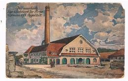D-10174  INGOLSTADT : Das Neuerbaute äge- Und Hobelwerk Der Firma Uhlmann & Co. - Ingolstadt