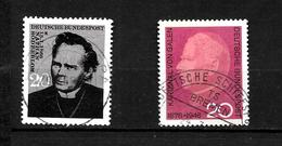 LOTE 1949  ////  ALEMANIA FEDERAL 1966  YVERT Nº: 356+363   CATALOG.2014/COTE: 0.75€ - [7] República Federal