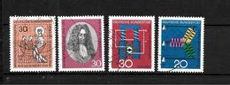 LOTE 1949  ////  ALEMANIA FEDERAL 1966  YVERT Nº: 372+375+378/379   CATALOG.2014/COTE: 1,20€ - [7] República Federal