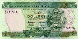 SOLOMON ISLANDS=N/D    2  DOLLARS     P-13        UNC - Solomon Islands