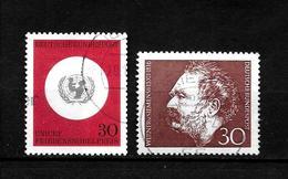 LOTE 1950  ////  ALEMANIA FEDERAL 1966  YVERT Nº: 384/385 - [7] República Federal