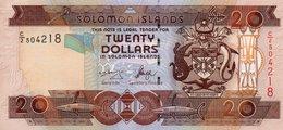 SOLOMON ISLANDS=N/D    20  DOLLARS     P-28        UNC - Solomon Islands