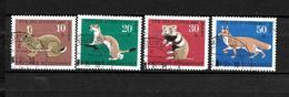 LOTE 1950  ////  ALEMANIA FEDERAL 1967  YVERT Nº: 387/390  CATALOG.2014/COTE: 3,50€ - [7] República Federal