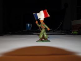 Légionnaire Porte Drapeau Starlux Années 60 - Starlux