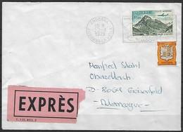 Französisch Andorra - R - Brief  22.09.1979 / Andorra La Vella Nach Geisenfeld ( Deutschland ) / Siehe Fotos - Französisch Andorra