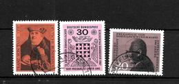 LOTE 1950  ////  ALEMANIA FEDERAL 1967  YVERT Nº: 400/402   CATALOG.2014/COTE: 0,90€ - [7] República Federal