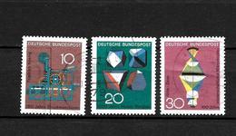 LOTE 1950  ////  ALEMANIA FEDERAL 1967  YVERT Nº: 411/413 - [7] República Federal