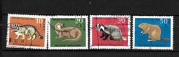 LOTE 1950  ////  ALEMANIA FEDERAL 1967  YVERT Nº: 414/417  CATALOG.2014/COTE: 7€ - [7] República Federal