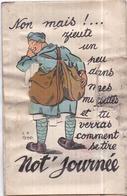 """Carte à Système Dépliant 10 Mini-vues - """"Not 'Journée..."""" - Garde à Vos Édit. - Cartoline Con Meccanismi"""