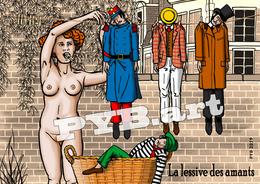 PYB: La Lessive Des Amants [ Nu Nude Femme ] - Dessins