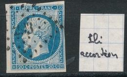 N°14 PLI ACCORDEON - 1853-1860 Napoléon III