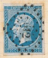 N°14  VARIETE. - 1853-1860 Napoléon III