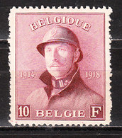 178*  Roi Albert Casqué - Bonne Valeur - MH* - LOOK!!!! - 1919-1920 Trench Helmet