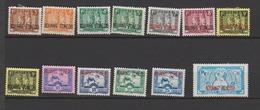KOUANG-TCHEOU    N°  YVERT  : 125/134  NEUF AVEC  CHARNIERES      (  CH  01/48 ) - Kouang-Tcheou (1906-1945)