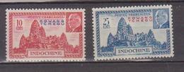 KOUANG-TCHEOU    N°  YVERT  : 138/139  NEUF AVEC  CHARNIERES      (  CH  01/48 ) - Kouang-Tcheou (1906-1945)