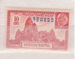 KOUANG-TCHEOU    N°  YVERT  : 138 NEUF AVEC  CHARNIERES      (  CH  01/48 ) - Kouang-Tcheou (1906-1945)