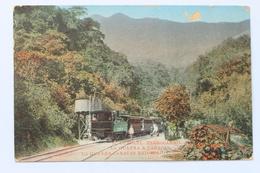 FERROCARRIL, LA GUAYRA A CARACAS, LA GUAYRA - CARACAS RAILROAD, VENEZUELA, 1912 - Venezuela