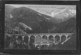 AK 0383  Semmering - Kalte Rinne Mit Raxalpe / Verlag Frank Um 1911 - Semmering