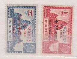 KOUANG-TCHEOU    N°  YVERT  :     156/57  NEUF AVEC  CHARNIERES      (  CH  01/49 ) - Kouang-Tcheou (1906-1945)