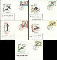 Soviet Union / Russia - 1980 C - Olympic Games 1980 - FDC - Estate 1980: Mosca