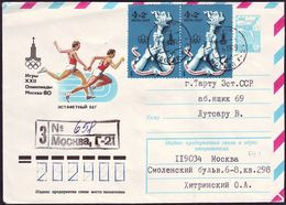 Soviet Union / Russia - 1980 Zb - Olympic Games 1980 - Stationery Cover - Estate 1980: Mosca