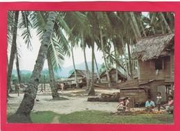 Modern Post Card Of Kuantan Town, Kampong Tanjong Lumpur,Kuantan, Pahang, Malaysia.D25. - Malaysia