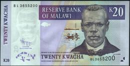 MALAWI - 20 Kwacha 31.10.2009 UNC P.52 D - Malawi