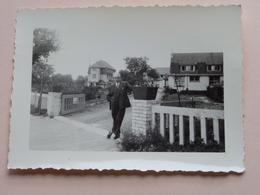""""""" Le LYS ROUGE """" Te COXYDE-BAINS (Koksijde-Bad) > ( +/- 9,5 X 7 Cm. ) Anno 1956 ( Zie / See / Voir Photo ) ! - Lugares"""