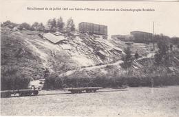 BACDEC19- LES SABLES D'OLONNE EN VENDEE DERAILLEMENT DU 29 07/ 1908 ECRASEMENT DU CINEMATOGRAPHE BORDELAIS - Sables D'Olonne