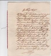 Document En Allemand Daté Du 5 Novembre 1886 - Jakob Lang à Durmenach (67) - Officier De Justice - Obermuespach (67) - Manuskripte