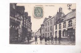 CPA  DPT22 LOUDEAC, RUE CADELAC En 1907! - Loudéac
