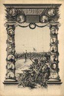 Patriotique (1914) - . Gloire à Notre Armée Et Nos Alliés - Par J. Magnien MILITAR - Patrióticos