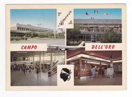 Corse Du Sud AJACCIO Aéroport De CAMPO DELL'ORO En 1981 Avion Air Inter Tabac Journaux - Ajaccio