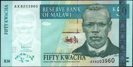 MALAWI - 50 Kwacha 31.10.2005 UNC P.53 A - Malawi